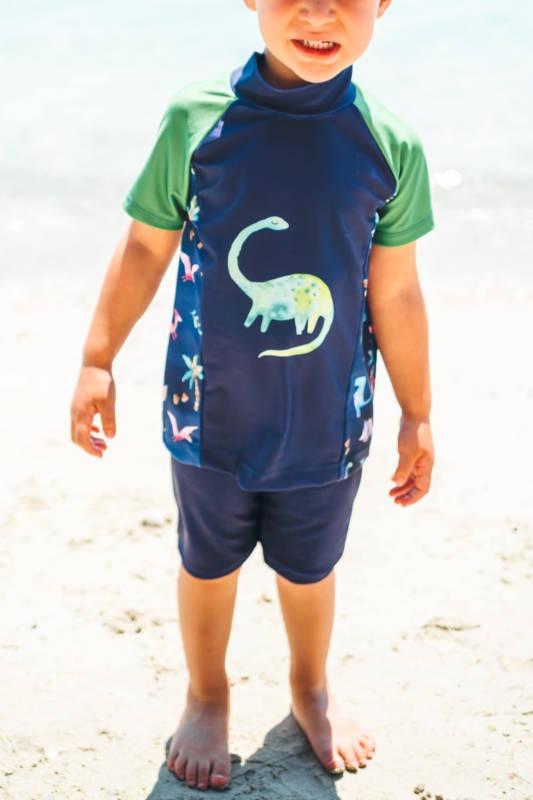 UV und Sport Shirt naehen 005