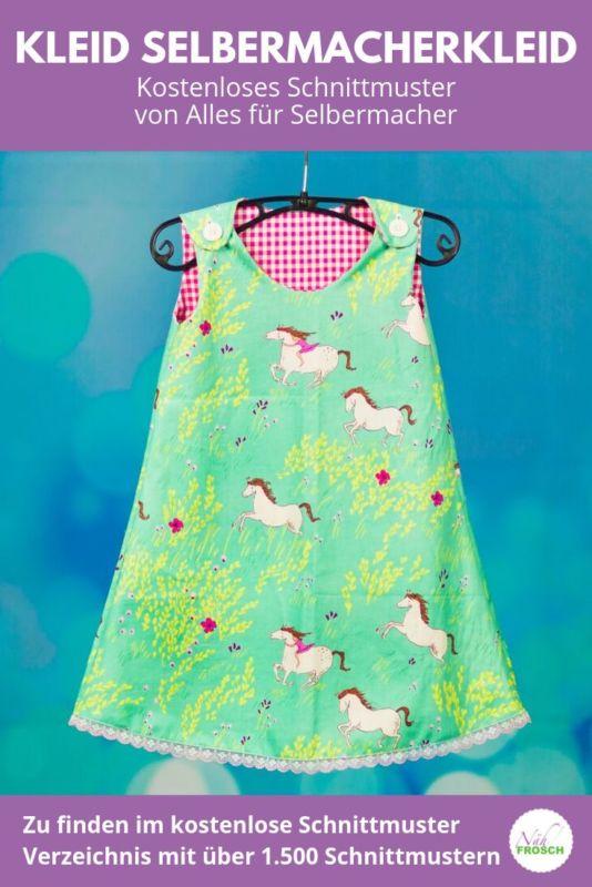 Kostenlose Schnittmuster Kleid Selbermacher-Kleid 2