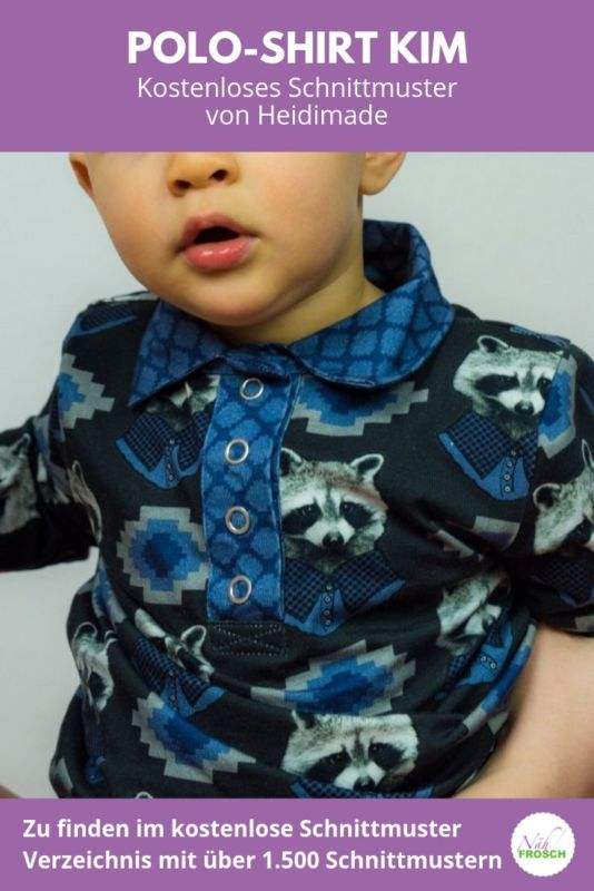 Kostenloses Schnittmuster Polo Shirt Kim