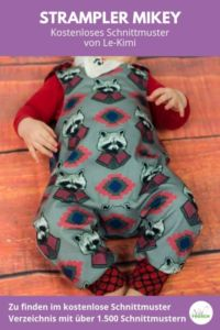 Baby Strampler naehen