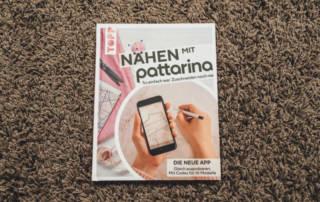 Nähen mit Pattarina: Mit der App zuschneiden - Buchrezension