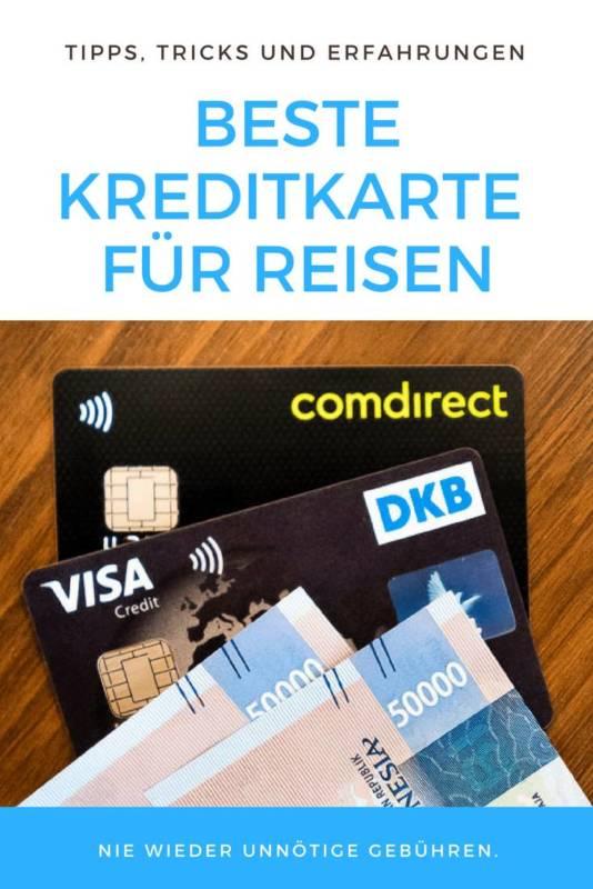 Reise Kreditkarte ohne Gebuehren