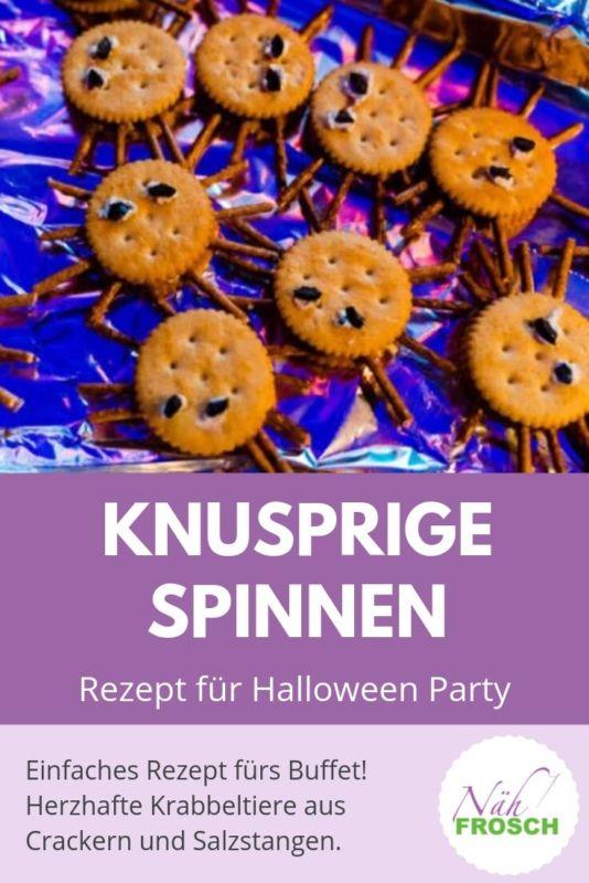 Spinnen Halloween Rezept