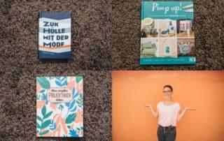 Rezension von DIY- und Nähbüchern: Ein Roman, ein Näh-Projektbuch und ein Buch zum Pimpen mit Markern!