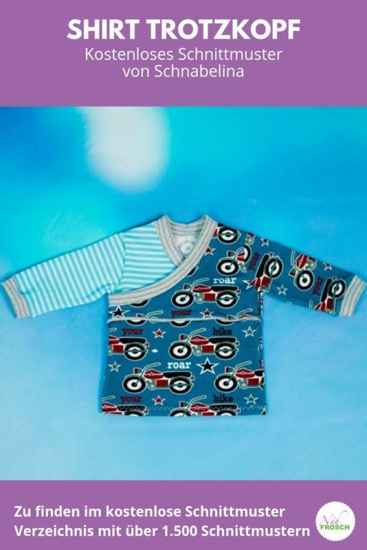 Kostenlose Schnittmuster Shirt Trotzkopf