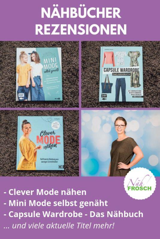 Nähbücher Minimode Capsule Wardrobe Clever Mode nähen