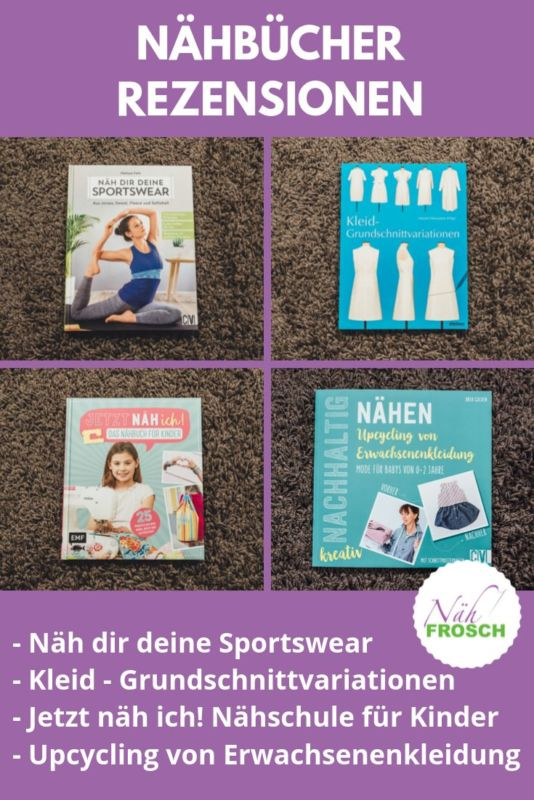 Nähbücher Sportswear Nähschule Kleid Grundschnitt (1)