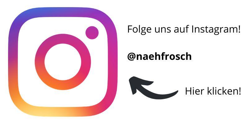 Instagram Naehfrosch folgen klein