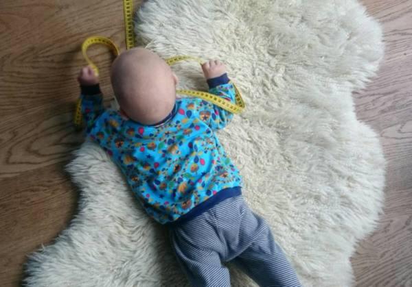 Babyshirt naehen Manis 00122