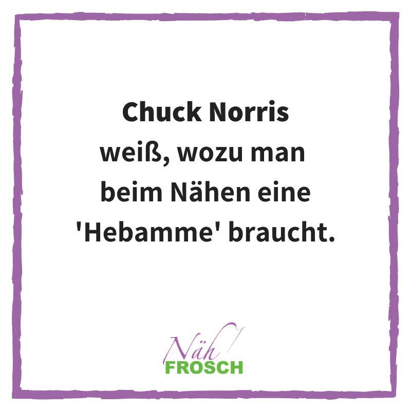Chuck Norris Naehtipps