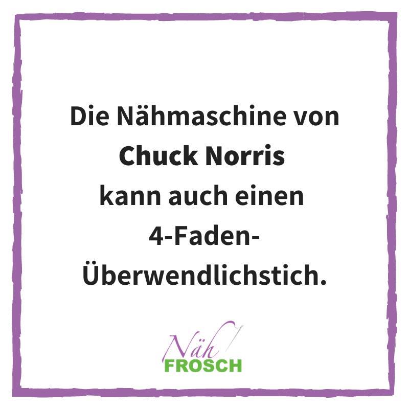 Chuck Norris Overlockstich