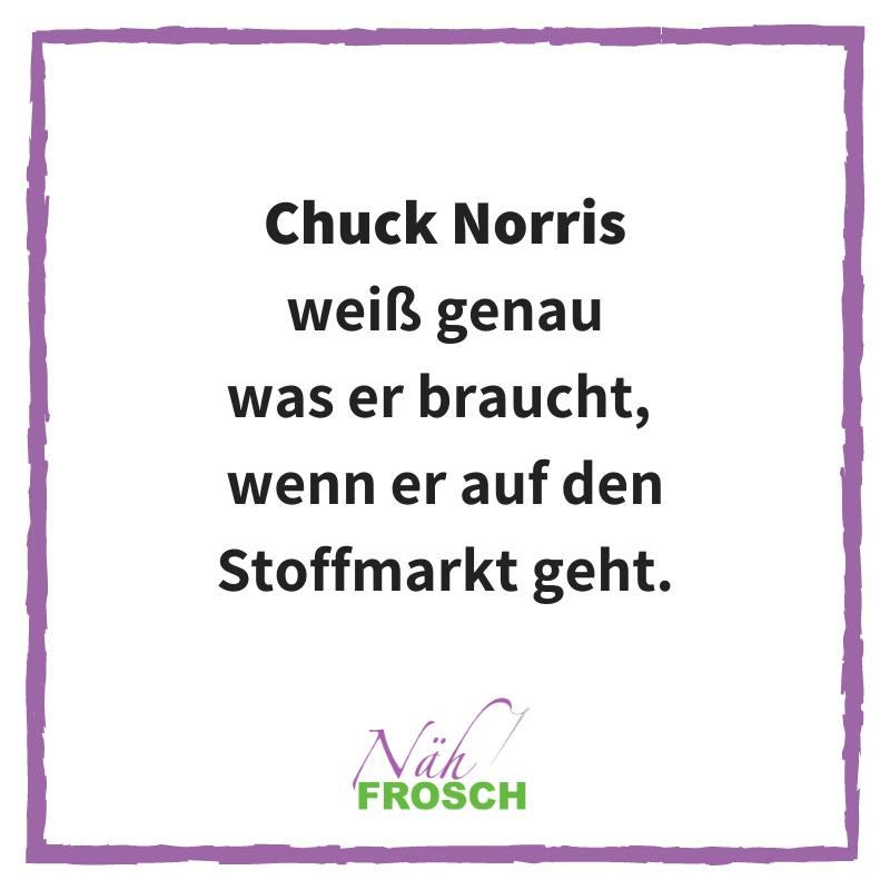 Chuck Norris Stoffmarkt