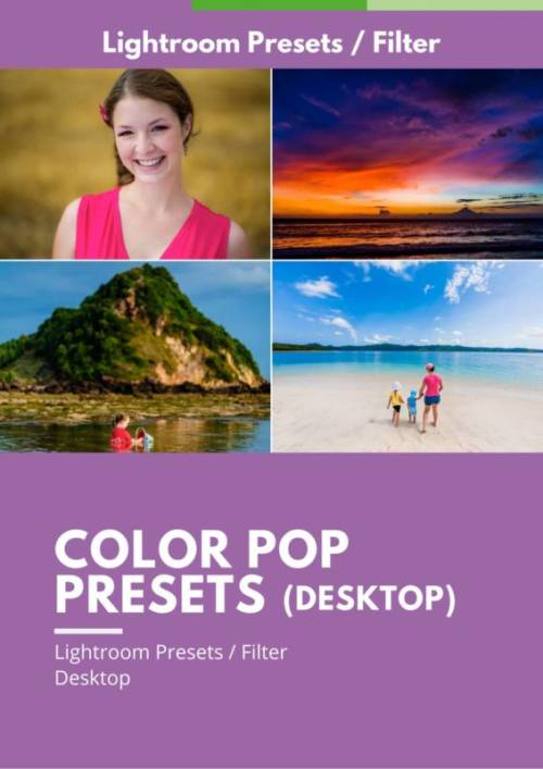 Color Pop Presets Desktop