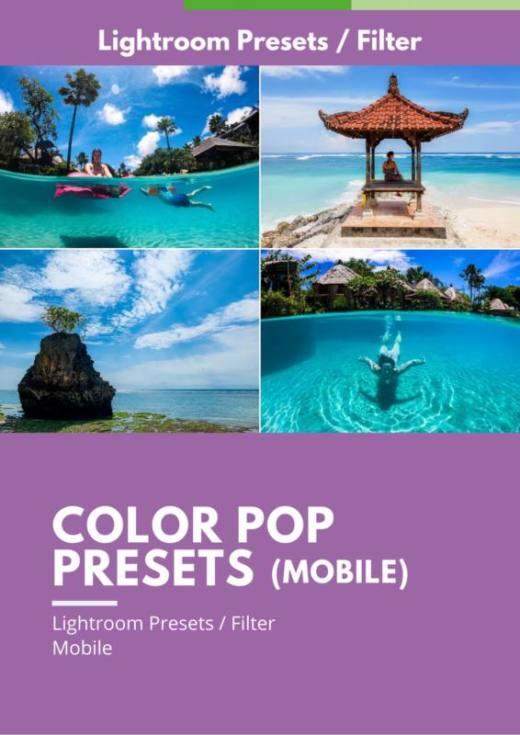 Color Pop Presets Mobile