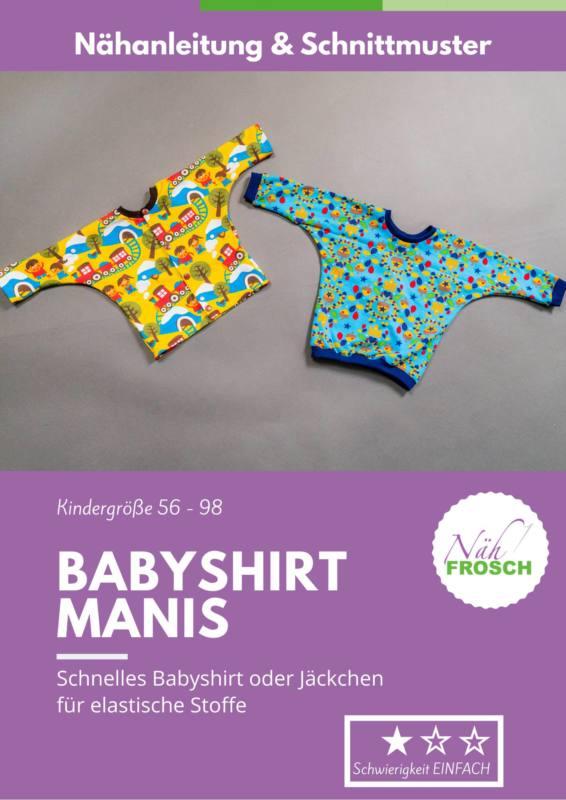 Deckblatt Babyshirt Manis