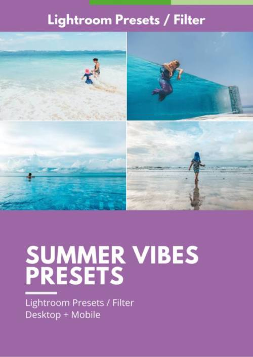 Summer Vibes Presets