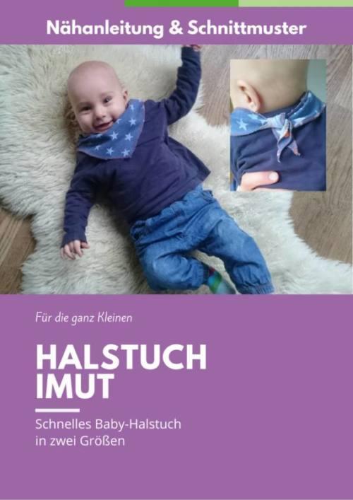 Baby-Halstuch naehen IMUT ohne Logo