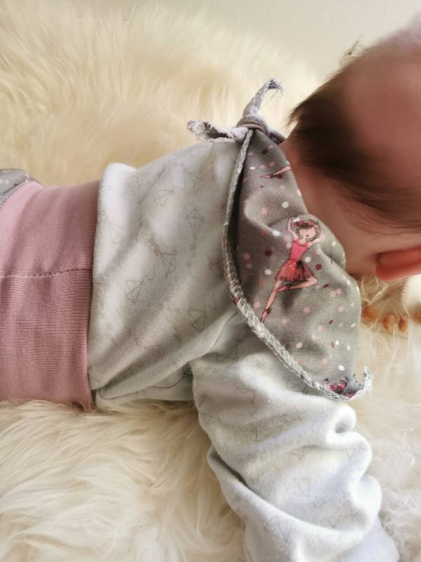Baby Tuch naehen 9
