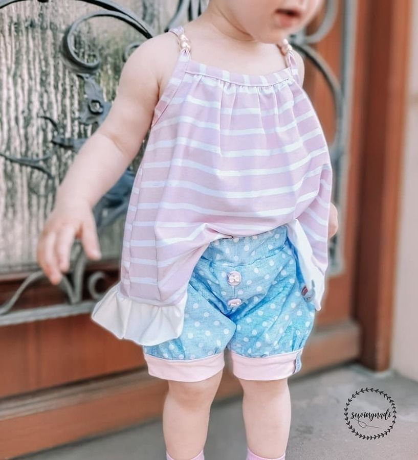 GIRLY SUMMER MINI naehen Sara Julez 5