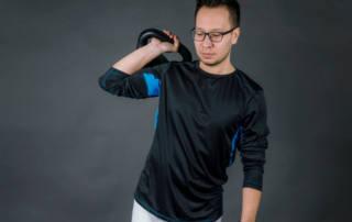 Sport Shirt mit Mesh-Einsatz nähen: Das Schnittmuster Herren Shirt PELUH