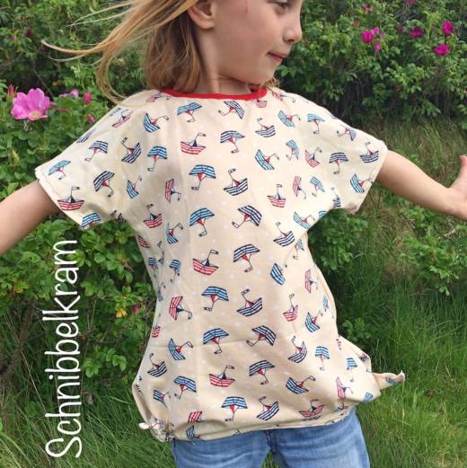 maedchen shirt naehen eazzy girls 2