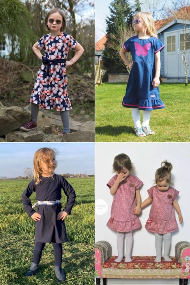 Cover Kinderkleid MENARI