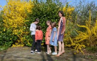Kleid nähen für Damen und Mädchen: Das Schnittmuster Kleid MENARI