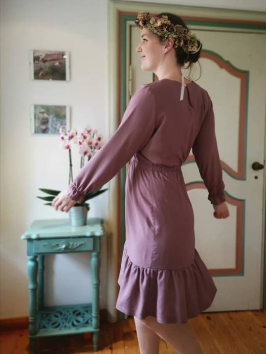 Damenkleid naehen 106