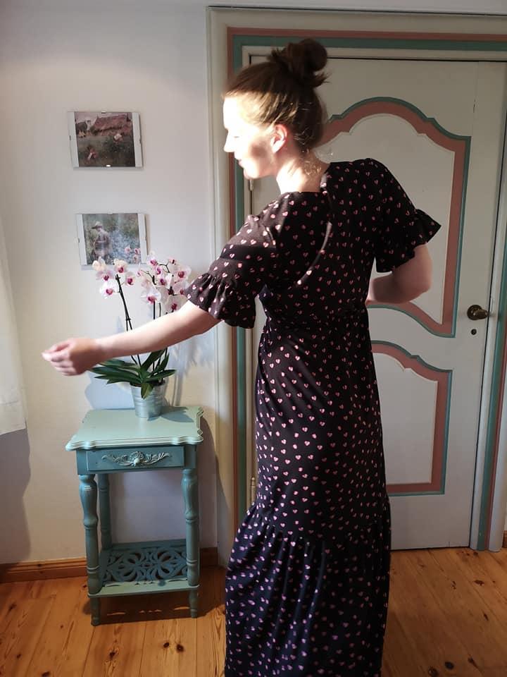 Damenkleid naehen 108