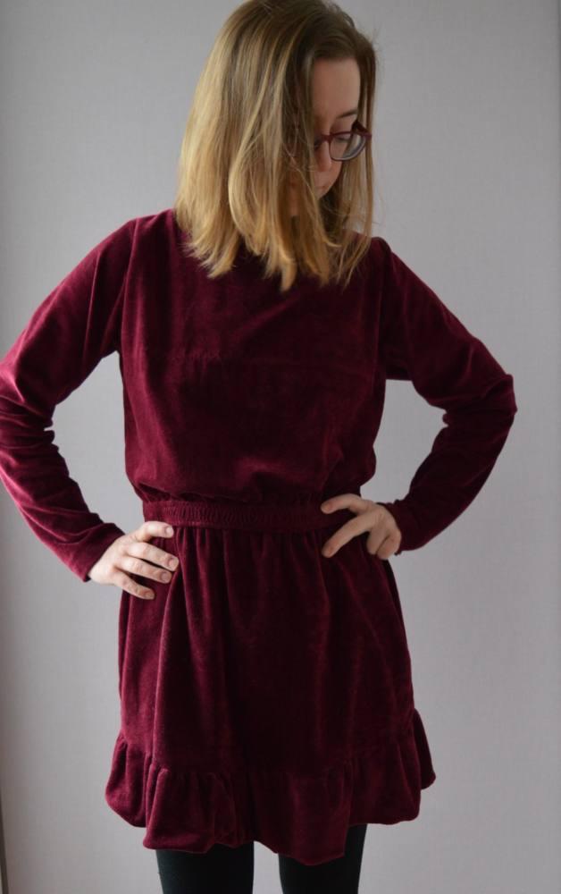 Damenkleid naehen 31