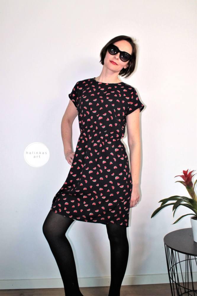 Damenkleid naehen 77