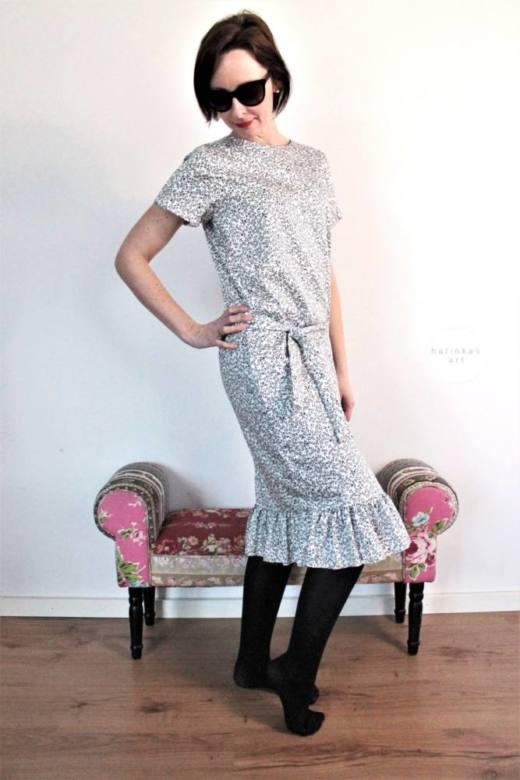 Damenkleid naehen 85