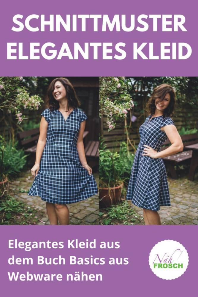 Elegantes Kleid aus dem Buch Basics aus Webware naehen