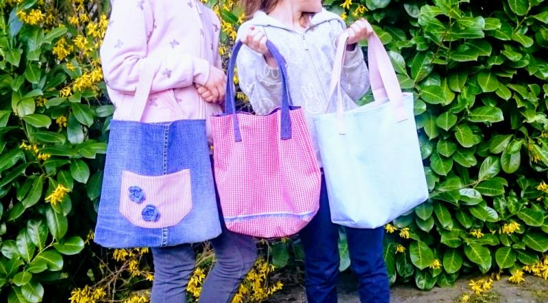 Kindertasche naehen WARNA 2