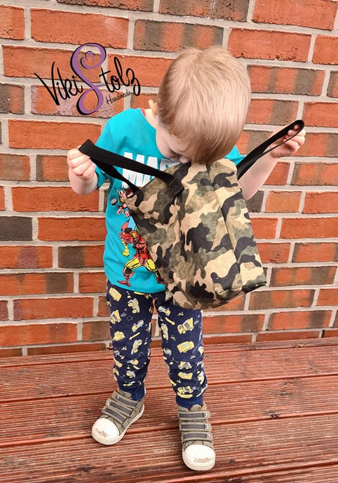 Kindertasche naehen WARNA 4