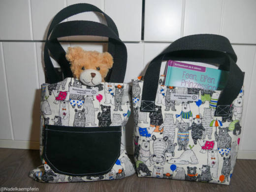 Kindertasche naehen WARNA 7