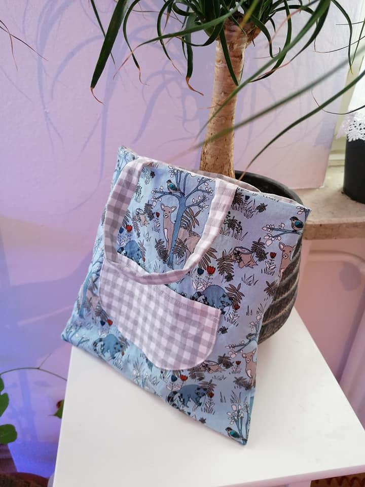 Kindertasche naehen WARNA 9