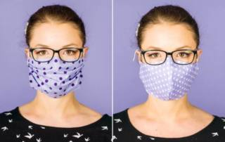 Mundschutz Maske selber nähen: Behelfsmaske nähen kostenlose Anleitungen