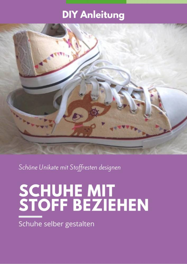 Coverbild Schuhe mit Stoff beziehen