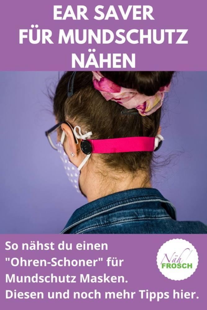 Ear Saver Mundschutz Maske naehen