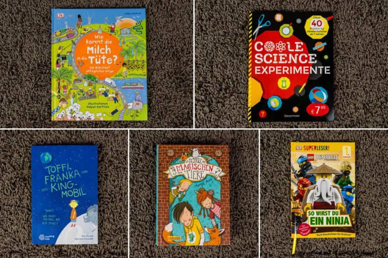 Kinder-Buecher-Experimente-Müll-Entdecken-Magische-Tiere-Superleser