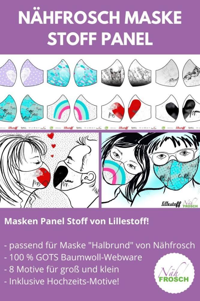 Hochzeits-maske-naehen-stoff