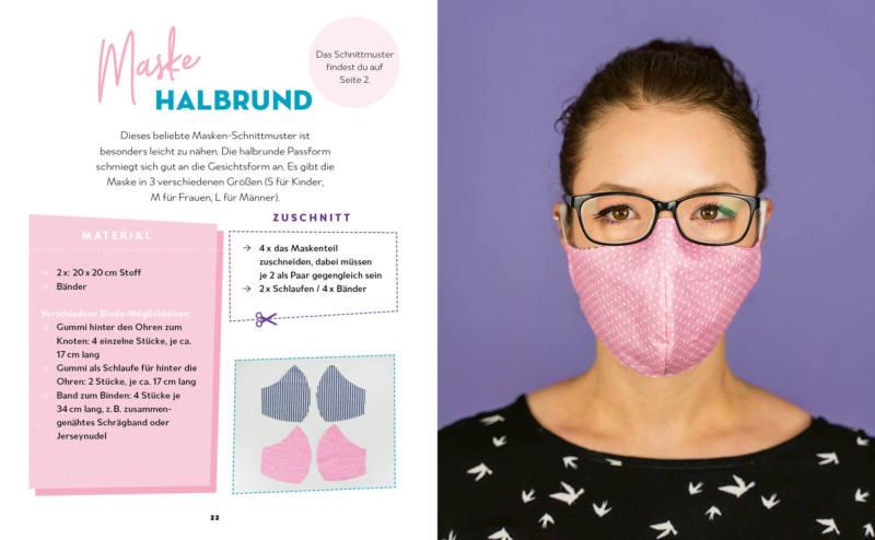 Masken nähen! – Mund-Nasen-Schutz einfach selbst gemacht