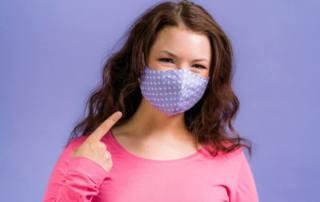 Mundschutz Maske für Kinder nähen