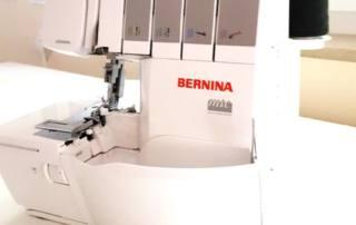 Bernina Overlock L450 mit Differenzialtransport und Nähfußdruck