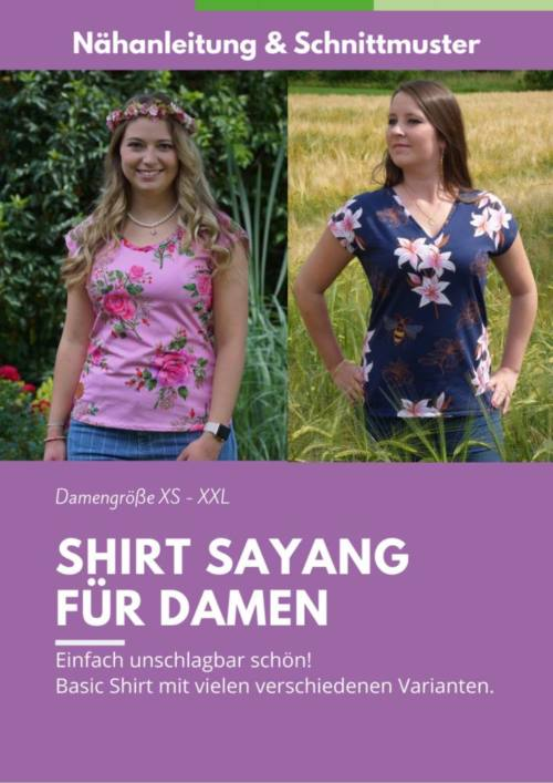 Cover Shirt SAYANG Damen