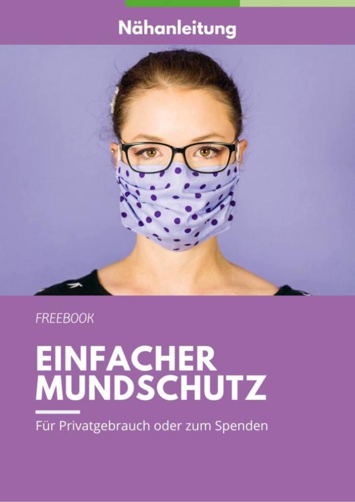 Coverbild Anleitung Mundschutz naehen