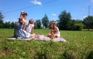 Picknickdecke nähen: Das Schnittmuster Taschen-Decke DUDUK