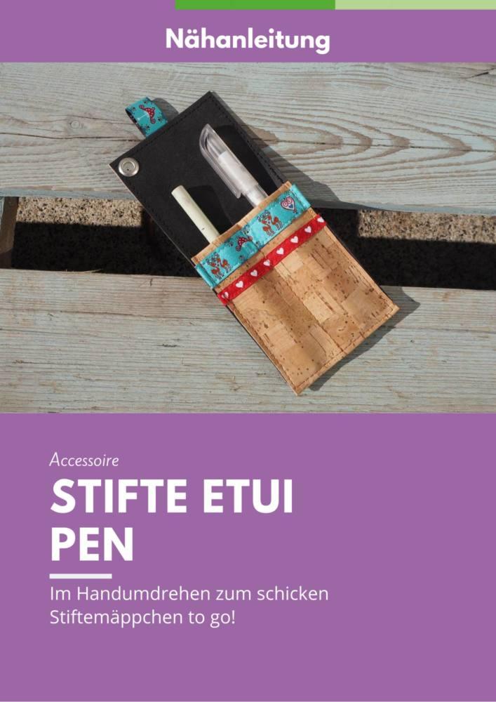 Cover Anleitung Stifteetui PEN
