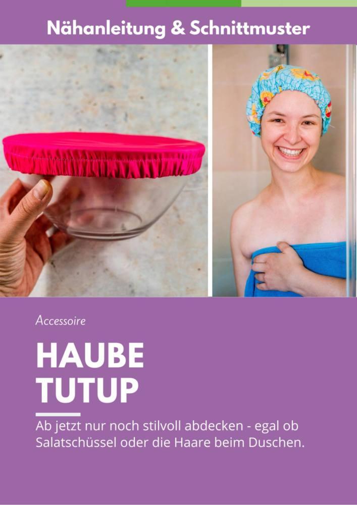 Dusch Haube naehen TUTUP